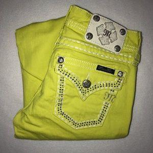 Miss Me Embellished Studded Skinny Jeans 26 31